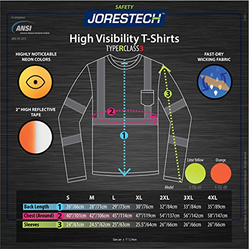 JORESTECH Safety long sleeve shirt by JORESTECH (Image #4)