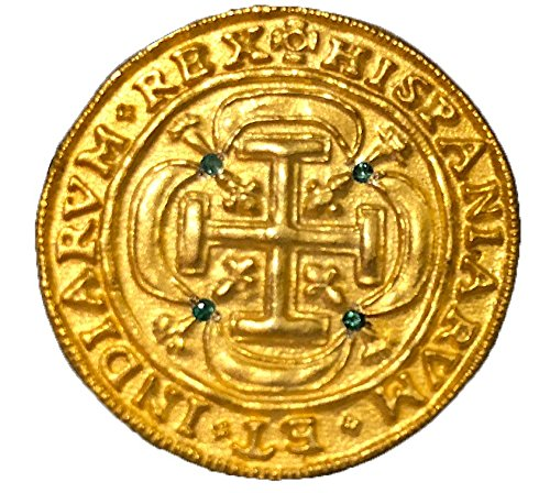 - Peru 1708 Royal (Replica) Shipwreck Treasure Gold Pirate Coin