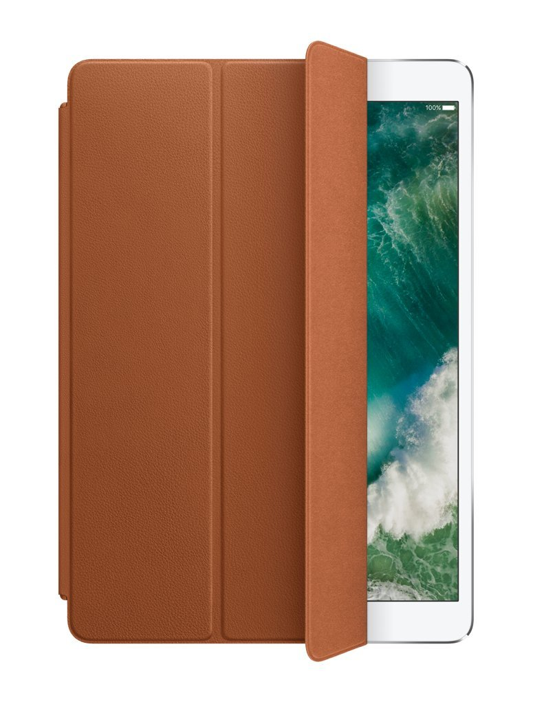 Apple Leather Smart Cover for 10.5'' iPad Pro - Saddle Brown by Apple
