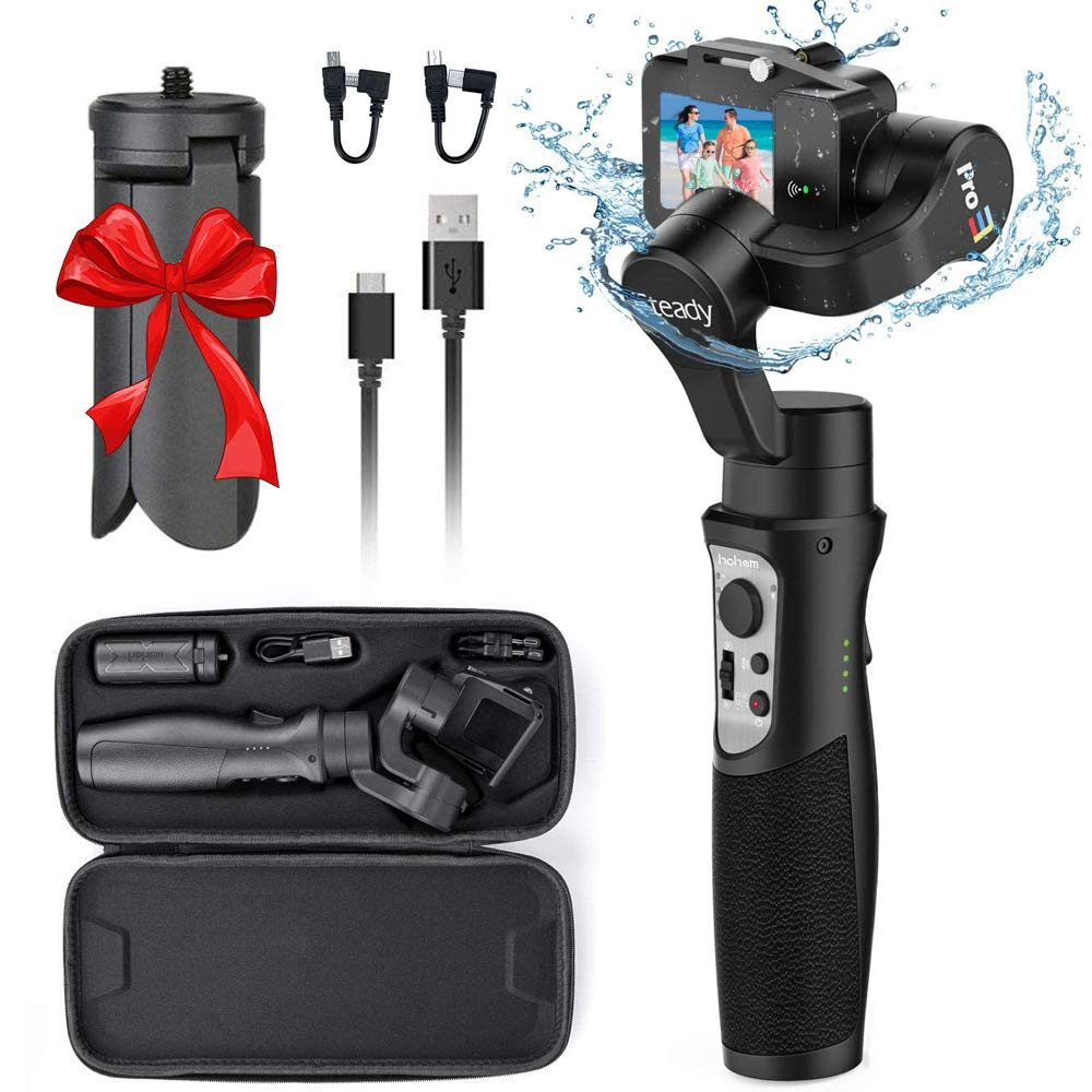 Hohem Isteady Pro 3 3 Axis Handheld Gimbal Stabilizer Amazon In Electronics