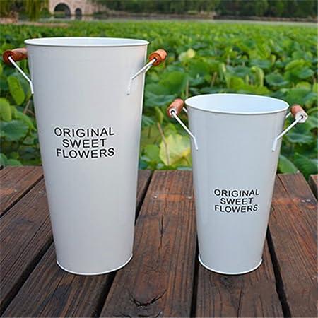 HUPLUE Cubo de flores para flores, diseño de flores, multicolor ...