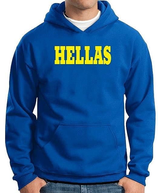 T-Shirtshock - Sudadera Hoodie WC0990 Hellas Italia Citta Stemma Logo, Talla XXL: Amazon.es: Ropa y accesorios