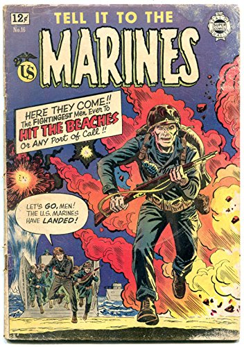 Tell it to the Marines #16 1964- IW Golden Age comic reprint- FAIR