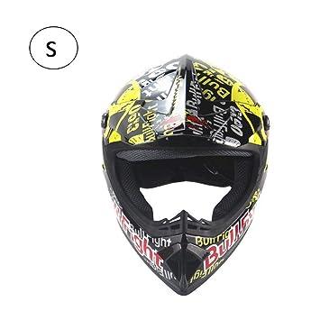 StageOnline Casco de Motocross - Personalidad Four Seasons Cascos de Motocross Hombres y Mujeres Casco de