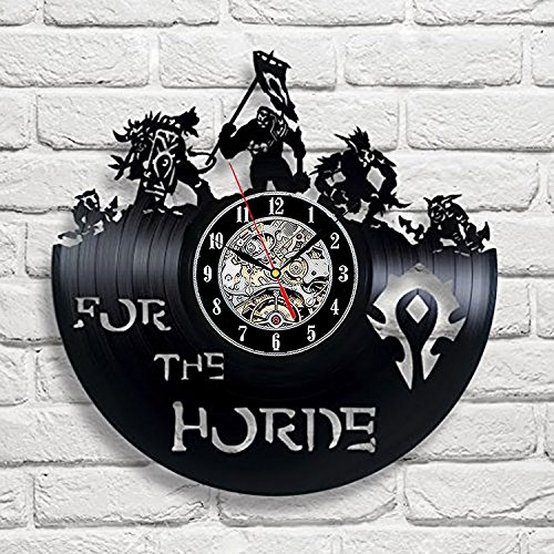 World of Warcraft Vinyl Wall Clock