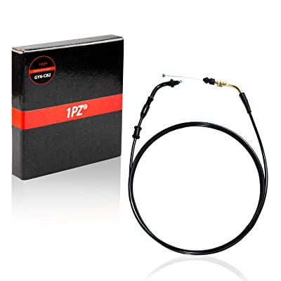 "1PZ GY6-C82 Universal 74"" - 78"" Throttle Cable for 50cc 125cc 150cc 139QMB GY6 Scooter Motorcycle Moped ATV: Automotive"