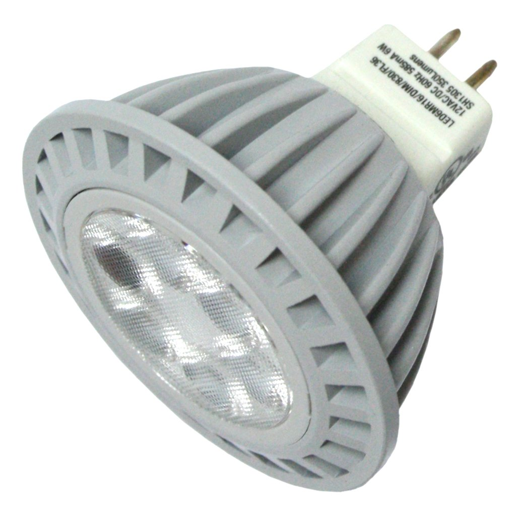 Sylvania 78422 - LED6MR16/DIM/830/FL36 MR16 Flood LED Light Bulb ...