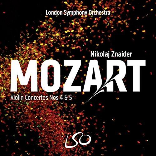 SACD : Nikolaj Znaider - Mozart: Violin Concertos Nos.4 & 5 (SACD)