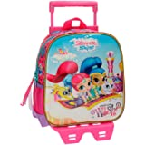 Shimmer and Shine Wish Mochilas infantiles, 25 cm, 5.75 litros, Multicolor