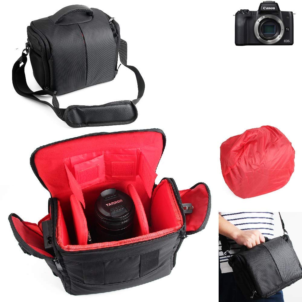 K-S-Trade para Canon EOS M50: Impermeable Anti-Choque DSLR ...