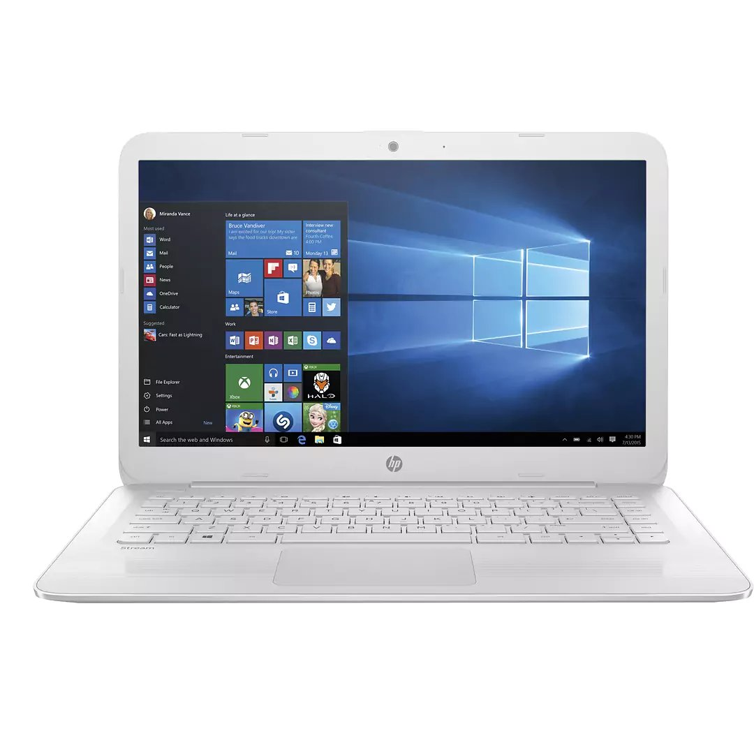 Flagship HP Stream 14.0'' HD WLED-backlit Laptop, Intel Dual-Core up to 2.48GHz, 4GB DDR3, 64GB SSD, free 1-yr Office 365 Personal, 802.11ac, Bluetooth, HDMI, Webcam, up to 10hr Battery Life, Win 10