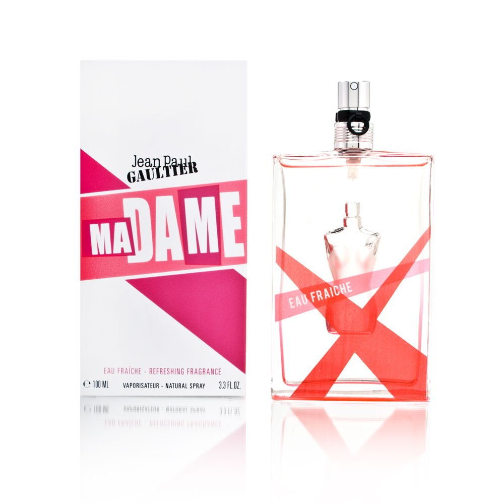 Madame by Jean Paul Gaultier for Women 3.3 oz Eau Fraiche Refreshing Fragrance Spray by Jean Paul Gaultier