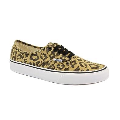5e07909331ce9e Vans Van Doren Authentic SCQ7SQ Unisex Laced Canvas Trainers Leopard - 12   Amazon.co.uk  Shoes   Bags