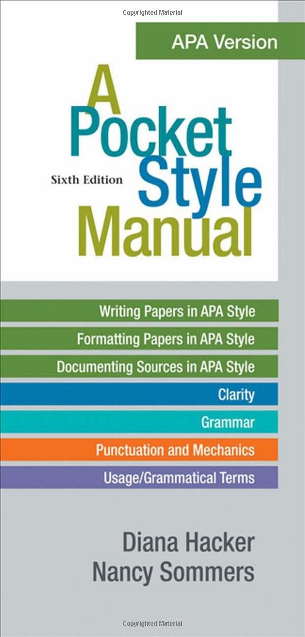 Purdue Owl, APA Formatting and Style Guide