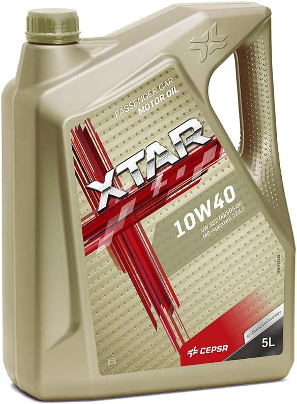 CEPSA 513973077 Aceite para Motor XTAR 10W40 5 litros