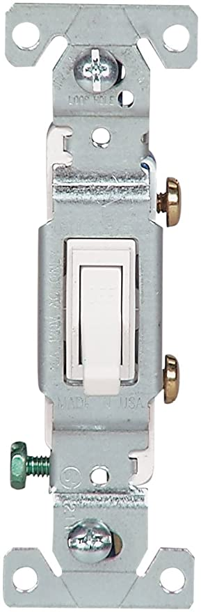 the eaton 1301 7w sp l 15 amp 120 volt standard grade single pole rh amazon com 4-Way Switch Wiring Diagram Light Switch Wiring Diagram