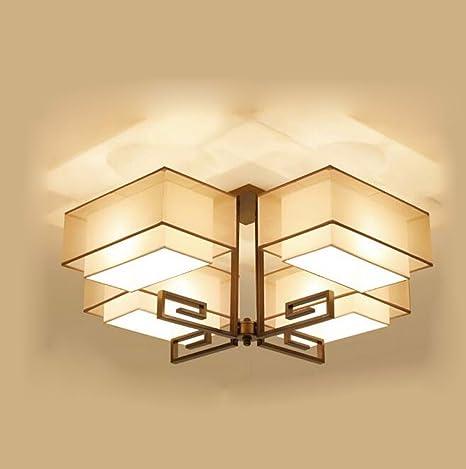 Sursy Iluminación de techo Chino, lámpara de techo led ...