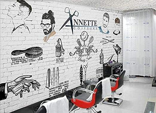 Fslucky Wallpaper Custom Hairdressing Background 3d Wallpaper