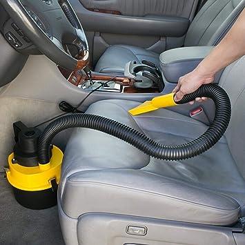 DIYEUWORLDL 12V Portable Car Vacuum Cleaner Wet and Dry Aspirador de po Dual-Use Super Suction Car Vacuum Cleaner: Amazon.es: Electrónica