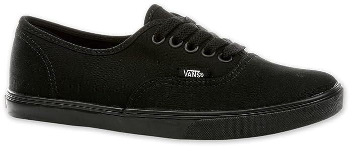 fd25b7665d Vans Authentic Lo Pro Classic Black Black Women s The Sport Shoes Trainers  Black Size  7.5 UK (M) Women   7.5 UK (M) Men  Amazon.co.uk  Shoes   Bags