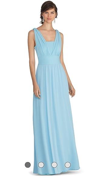 Genius Chiffon Convertible Gown Dress White House Black Market