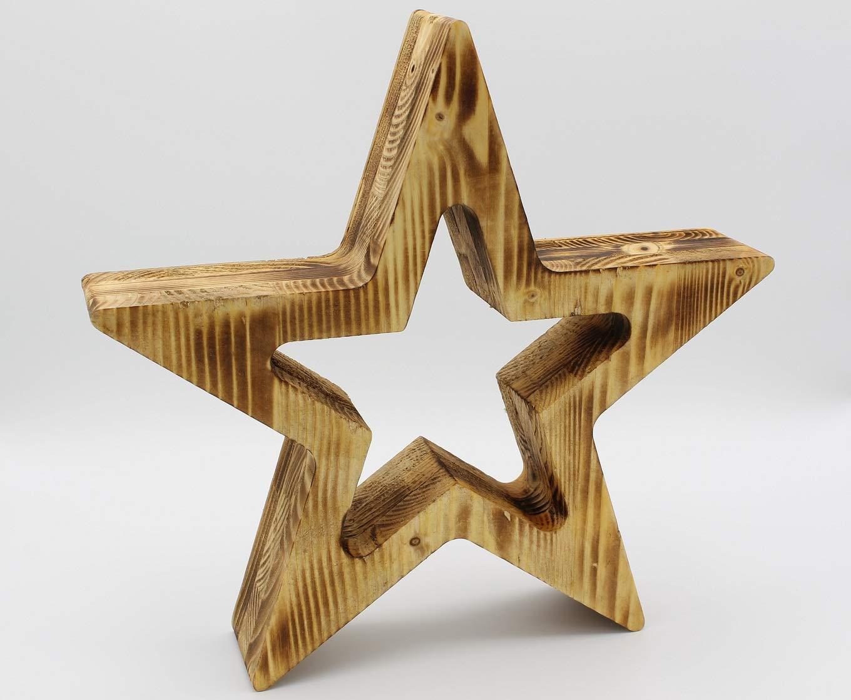 Weihnachtsstern/Deko-Stern aus Holz