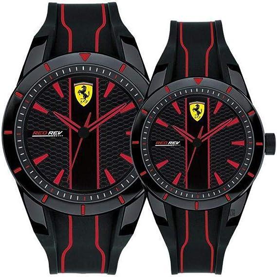 Reloj Solo Tiempo Hombre Establo Ferrari redrev Deportivo COD. fer0870021: Amazon.es: Relojes