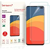 BERSEM [2Pack] Screen Protector for Samsung Galaxy S10 Plus / S10+,Full Coverage Screen Protector,HD Clear Film with Easy In