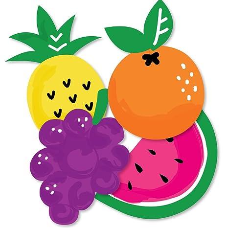 Amazon.com: Tutti Fruity – Piña, uvas, pera y sandía DIY ...