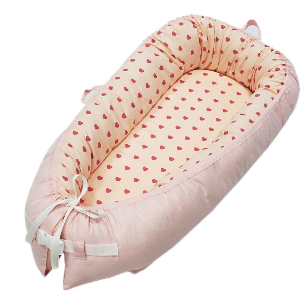 Double-sided Baby Nest for Newborn Baby Sleep Bed Portable Snuggle Nest Pod(2035 8050cm)