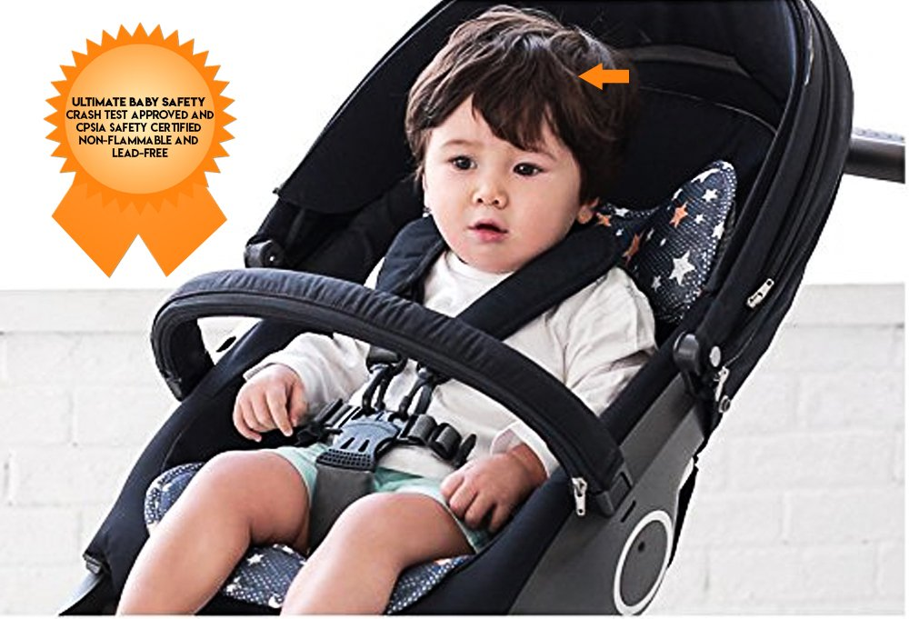 Amazon Agibaby 3D Air Mesh Cool Seat Pad Cushion Liner For Stroller And Car Shiny Star