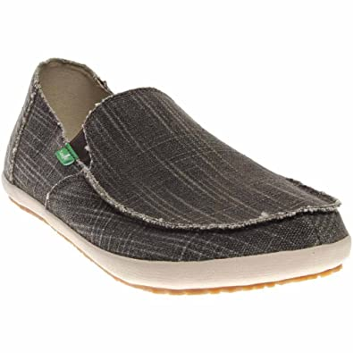 Sanuk Casual Shoes Mens Rounder Hobo Slub Slip On Rubber 1015975  MZM5AXQE1