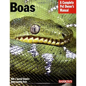 Boas (Complete Pet Owner's Manual) 17