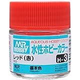水性ホビーカラー H3 レッド (赤)