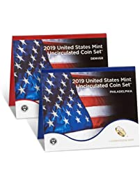 2019 P, D U.S. Mint Uncirculated 20 Coin Mint Set with CoA Uncirculated