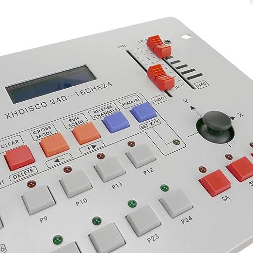 BeMatik - Controlador DMX 512 de 8 deslizadores 5U: Amazon.es ...