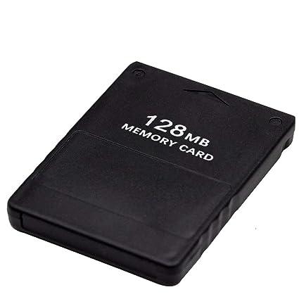 HUELE - Tarjeta de Memoria Compatible con Sony Playstation 2 ...