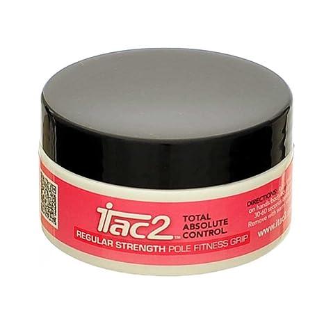 iTac2 - Producto adherente para pole dance, fuerza media, 45 g