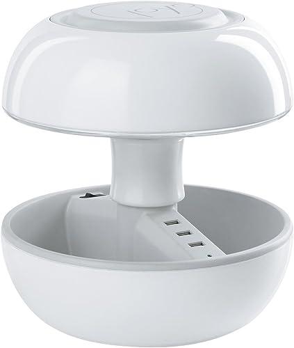 Joyo Lámpara De Mesa LED Classic Blanco: Amazon.es: Iluminación