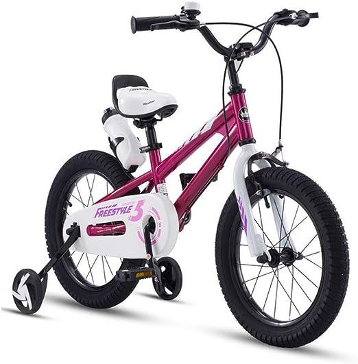 SGMYMX Bicicleta para niños Freestyle niño niña niño niño niño ...