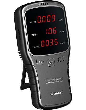 Detector de formaldehído detecta PM2.5 Pruebas en tiempo real Análisis de carga USB Monitor