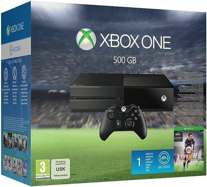 Xbox One 500 GB Console With Fifa 16 [Importación Inglesa]: Amazon ...