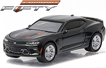 2017 Camaro 50th Anniversary >> New 1 64 Greenlight 50th Anniversary Series 3 Collection Grey 2017 Chevrolet Camaro Ss Diecast Model Car By Greenlight