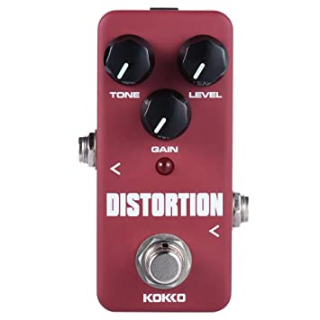 Amazon.com: Apros Kokko guitarra eléctrica Pedal de efecto ...