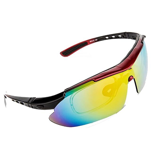TZQ Ciclismo Gafas Polarizadas Gafas Bicicleta Gafas MTB Deportes Al Aire Libre Gafas A Prueba De
