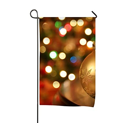 Amazon Com Holiday Christmas Ornaments Garden Flag Yard