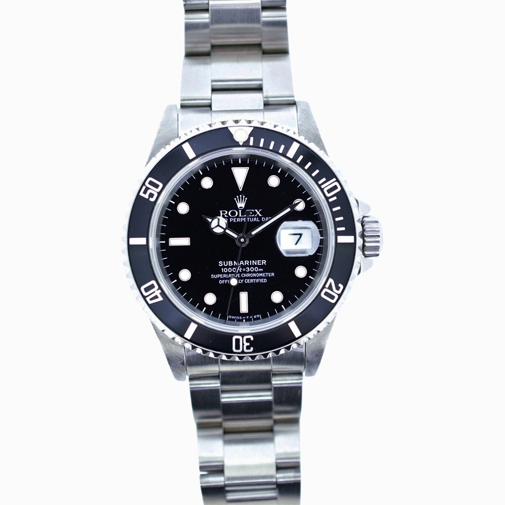 Rolex Submariner automatic-self-wind mens Watch 16610 (Certified Pre-owned)