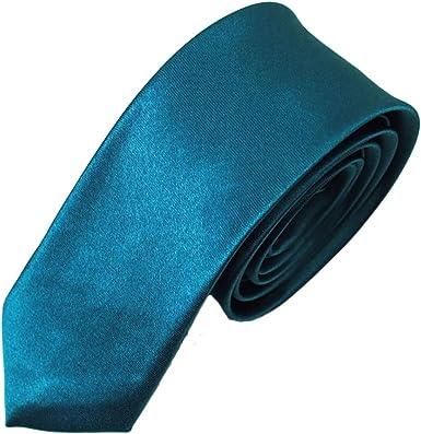JUNGEN Corbata de Informal para Hombres Corbata Lisa con Color ...
