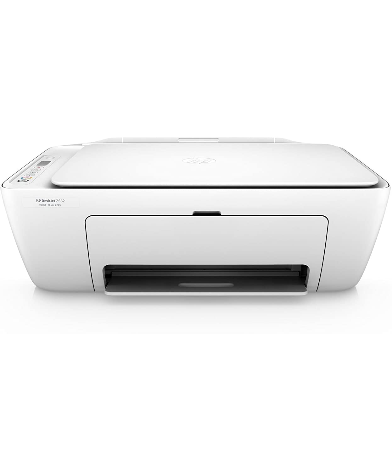 HP DeskJet 2652 All-in-One Printer in White (Certified Refurbished)