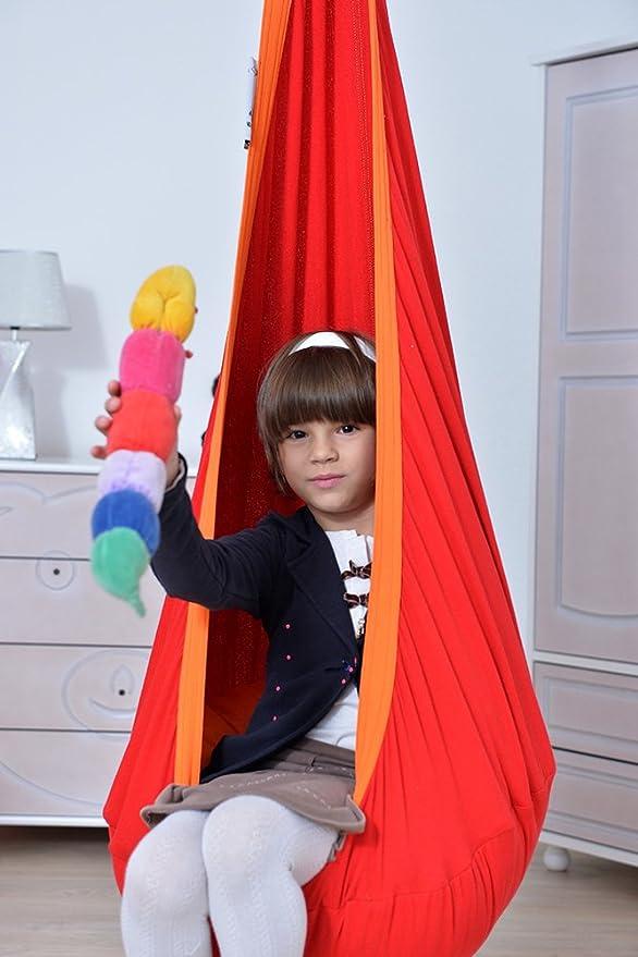 06abd440e77 Lola Hängehöhle in ÖKO TEX für Kinder Loli Kids Hängesessel Kindersitz  Flamingo: Amazon.de: Spielzeug